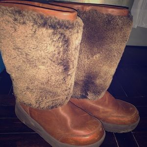 Fur Ugg Boots size 10